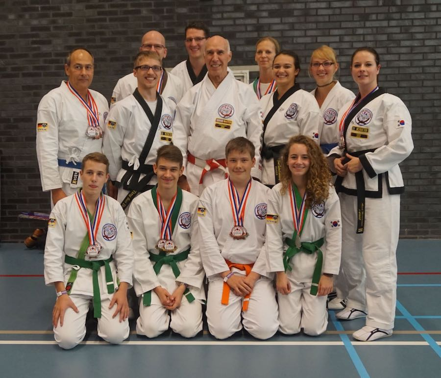 Europameisterschaft der Tang Soo Do Sportler in Delft