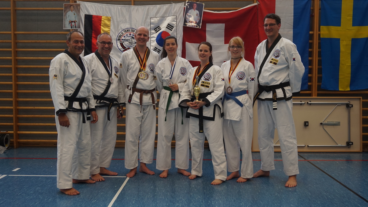 Internationale deutsche Meisterschaft im Tang Soo Do in Esting/Olching